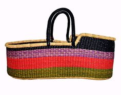 Riberry African Moses Basket