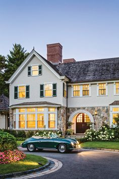 Architect Portfolio by Patrick Ahearn Architect - Dering Hall - Architect Portfolio by Patrick Ahearn Architect – Dering Hall - Home Interior Design, Exterior Design, Interior Ideas, American Houses, House Entrance, Coastal Homes, Architecture Details, House Architecture, Style At Home
