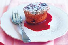 Raspberry & white chocolate friands main image
