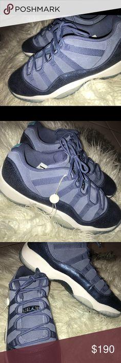 a167938af5d7 Jordan 11 lows Blue Jordan 11s with icy bottoms Jordan Shoes Sneakers Jordan  11 Low Blue