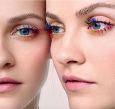 The Latest Beauty Craze Is Very Colorful