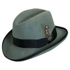 Stacy Adams Homburg Hat All Fedoras abf78230826a