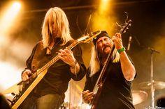 Rick Wartell -guitarra- y Bruce Franklin -guitarra- de Trouble, KristonFest 2016, Santana 27, Bilbao, 13/V/2016. Foto por Dena Flows  http://denaflows.com/galerias-de-fotos-de-conciertos/t/trouble/