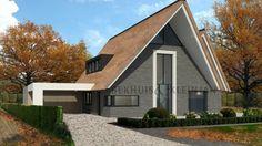 Recent zijn wij gestart met het bouwen van deze schitterende nieuwbouw villa in Halsteren. Deze woning is getekend door architectenbureau Bekhuis & KleinJan.
