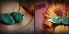 Bauz Haarspange und Kette aus FIMO DIY