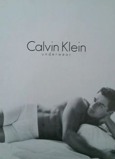 First there was Marky Mark, then Antonio Sabato, Jr. became the face/body of Calvin Klein (1998).