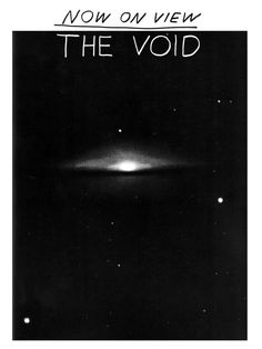 nathaniel russell | the void | fake fliers