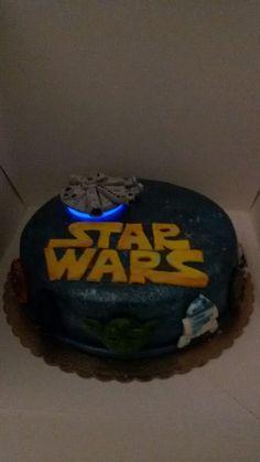 Cake star wars.  Il dolce di amarah