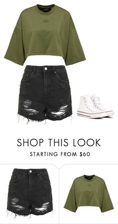 """My style pt. 4"" by ifrancesconi on Polyvore featuring Topshop and Converse"