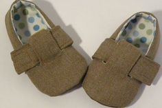 Sewing Pattern PDF Download Baby Shoes in 6 different sizes 0-18 months