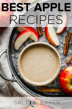 Here are the best apple recipes to make this fall. These are easy apply recipes for the fall, including apple crisp, apple scones, caramel apple dip, caramel apples, and so much more! There will definitely be an apple recipe you will love.