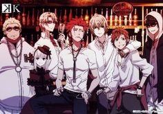 K Project Homra The Red King's Clan