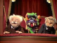 Statler and Waldorf/Gallery Statler And Waldorf, Kermit And Miss Piggy, Sesame Street Characters, The Muppet Show, Jim Henson, Treasure Island, Christmas Carol, Puppet, Holiday Fun