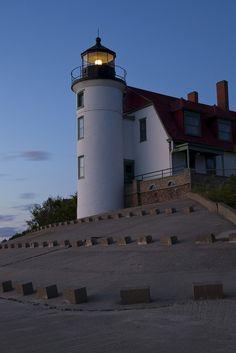 Point Betsie, Michigan....night light