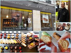 Patisserie and chocolate boutique of Pascal Caffet, MOF, 13 rue Duban, 75016 Paris (just off Rue de Passy)