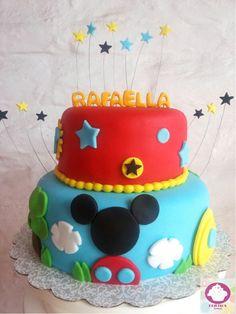Mickey house cake