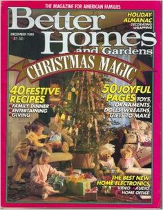 Better Homes And Gardens Magazine December 1988 Back Issues, Past Issues  And Used Magazines