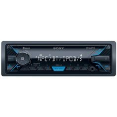 Sony - In-Dash Digital Media Receiver - Bluetooth - Satellite Radio-ready with Detachable Faceplate - Black
