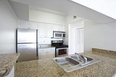 Kitchens feature granite countertops and upgraded appliances Quartz Tiles, Marble Tiles, Kitchen Worktop, Kitchen Cabinets, Glasgow, Edinburgh, Granite Worktops, Quality Kitchens, 2 Bedroom Apartment