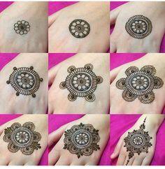 Znalezione obrazy dla zapytania henna design hand