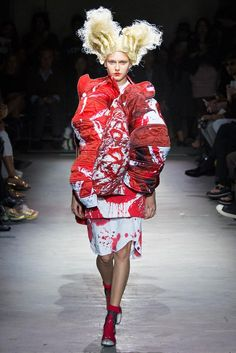 Comme des Garçons | Spring 2015 Ready-to-Wear Collection | Style.com