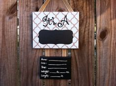 Lillou Handmade Gender Neutral, gender surprise, gender announcement hospital door decoration, baby hospital door sign on Etsy, $35.00