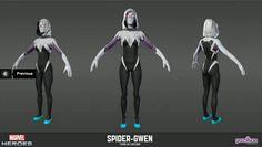 Spider Gwen model