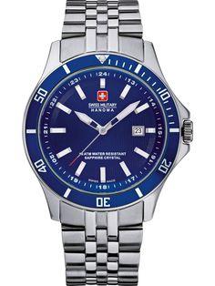 94b49a85ee5a Swiss Military Hanowa FLAGSHIP 06-5161.2.04.003 Herrenuhr Stainless Steel  Bracelet