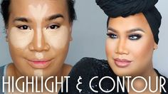 Tutorial on Patrick starrr highlight & contour by Claire B . Check out more Makeup on Bellashoot. Male Makeup, Makeup Tips, Beauty Makeup, Makeup Tutorials Youtube, Beauty Tutorials, Beauty Tips, Beauty Secrets, Contour Makeup, Contouring And Highlighting