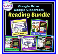 Looking for digital lessons to incorporate into your grades 3-5 reading curriculum? This reading strategies and skills bundle for Google Drive & Google Classroom contains 5 Google Drive Products totaling 204 Google Drive Slides in all!