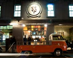 Little Creatures Dining Hall in Melbourne, Australia