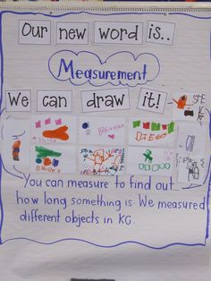 Joyful Learning In KC: Measurement In Kindergarten