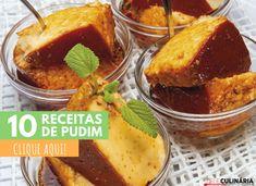 10 receitas de pudim Flan, Cornbread, French Toast, Deserts, Favorite Recipes, Sweets, Breakfast, Ethnic Recipes, Algarve
