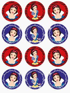 snow white printables free