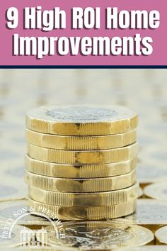 Making home improvements should be on every homeowner's to-do list, but the real question to ask is which home improvements will really move the needle in terms of the best return on investment? High ROI home improvements can have a dramatic impact on property prices, so now's the time to find out which ones you should tackle first! #homeimprovement #homeimprovements #returnoninvestment #diyhomeimprovements Moving House Tips, Moving Home, Moving Day, Real Estate Staging, Us Real Estate, Selling Real Estate, Property Prices, Home Food, Home Staging
