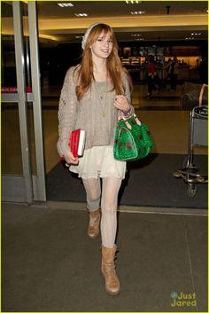 bella thorne airport photos | bella thorne airport jan 20 2013 1 Bella Thorne Arriving In Los ...
