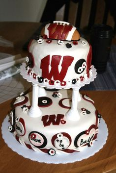 #badgers    @Emilie Laurent thoughts on this for the big day???