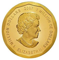 The world's largest gold coin (100-kilo), minted by the Royal Canadian Mint, with maple leaves on one side and Queen Elizabeth II on the other, has fetched $4 million, one of the most expensive coin till date, in an auction at the Dorotheum auction...