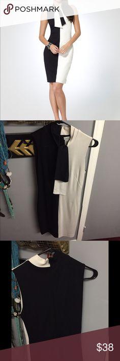 Cache Ponte Dress Beautiful designed ponte dress. Lined. Cache Dresses Midi