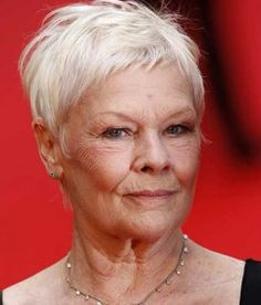 hairstyle ~ Dame Judi Dench | Hairstyles | Pinterest | Judi Dench ...