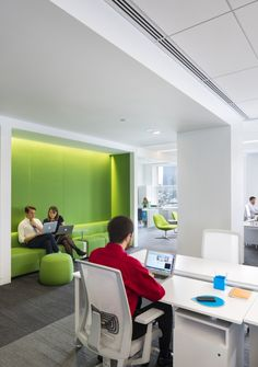 Mashable New York Office Design | deep wall