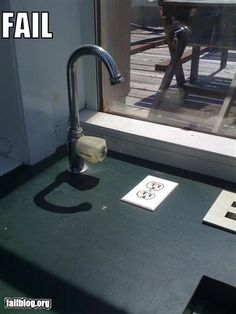 faucet fail...