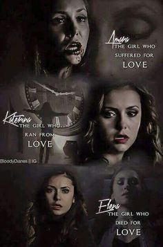 Three character, one actress. Nina Dobrev is the best!The Vampire DiariesAmara, Kathrine and Elena. Three character, one actress. Nina Dobrev is the best!The Vampire Diaries Vampire Diaries The Originals, The Vampire Diaries Serie, Vampire Diaries Wallpaper, Vampire Diaries Damon, Vampire Diaries Quotes, Damon Salvatore, Elena Gilbert, Delena, Katharina Petrova