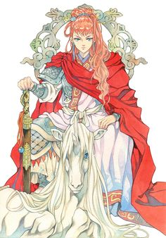 Queen of Kei & Keiki | 12 Kingdoms