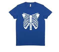 SKELETON $29 trippstshirts.com #skeleton #ribs #bones #halloween #tshirts #tshirtsrestinpeoplespersonalitees