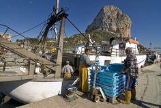 Une journée en mer auprès des pêcheurs à Calpe :)