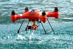 Amphibious drone returns, packing a 4K camera