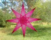 Ventana Rosa estrella con 8 puntos de Sharp