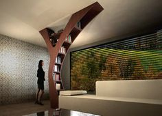 Y, do I love this, yes! Excuse the pun! Top 33 Creative Bookshelves Designs