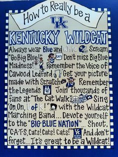 How to Really be a Kentucky Wildcat